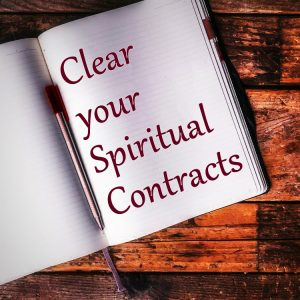 Gift | Written Exercise to Clear your Spiritual Contracts