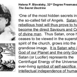 "Gregg Braden Follows Luciferian Helena Blavatsky | ""Zero Point"""